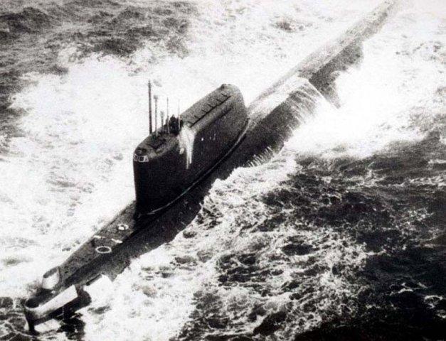 авария на атомной подводной лодке к-19
