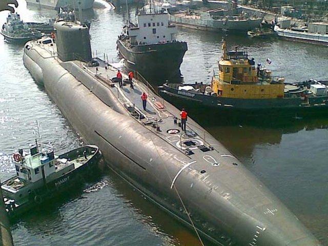 проект подводной лодки саров