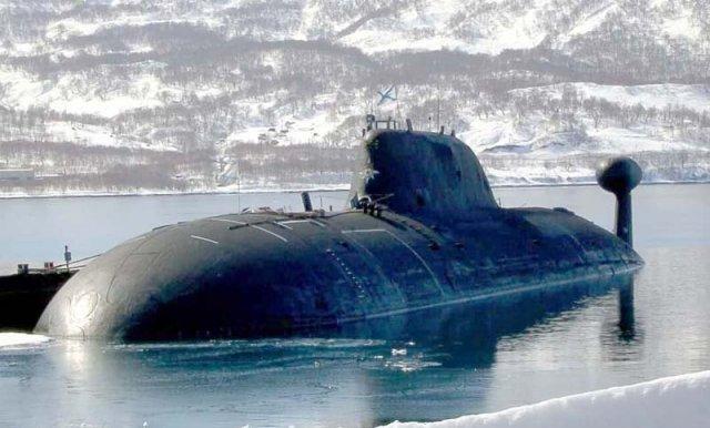 атомная подводная лодка барс