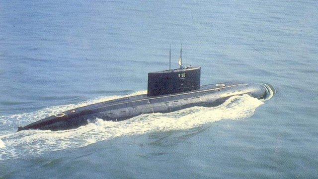 сонар на подводной лодке это